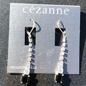 Cezanne sensitive skin drop earring/4 pierced ears